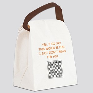 chess Canvas Lunch Bag