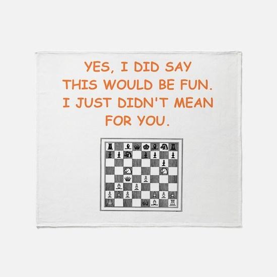 chess Throw Blanket