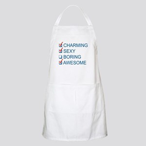 Charming, Sexy, and Awesome Apron