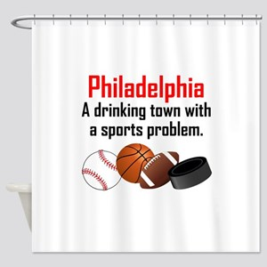 Shower Curtains Philadelphia A Drinking Town With Sports Problem