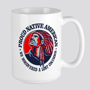 Proud Native American (Columbus) Mugs