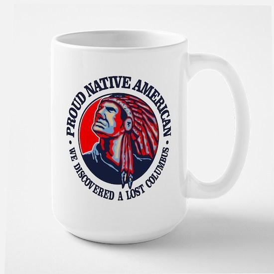 Proud Native American (Columbus) Mugs