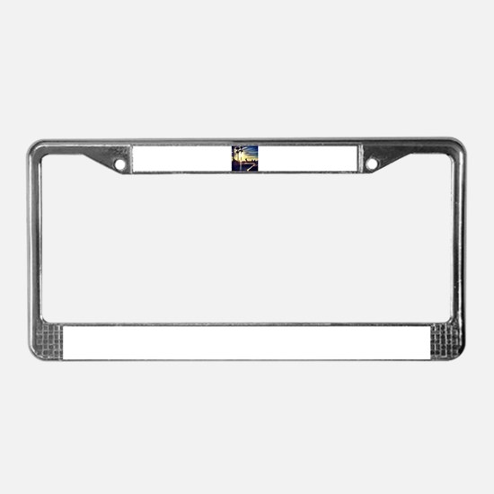 CALI SKATE License Plate Frame