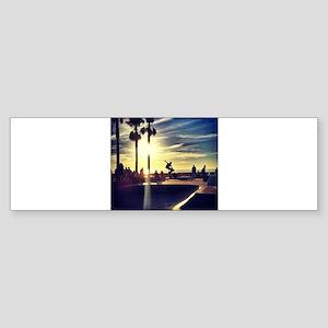 CALI SKATE Bumper Sticker