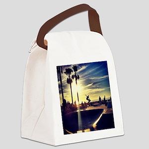 CALI SKATE Canvas Lunch Bag