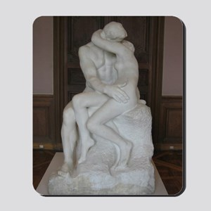 Rodin's The Kiss Mousepad
