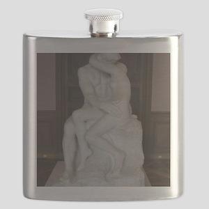 Rodin's The Kiss Flask