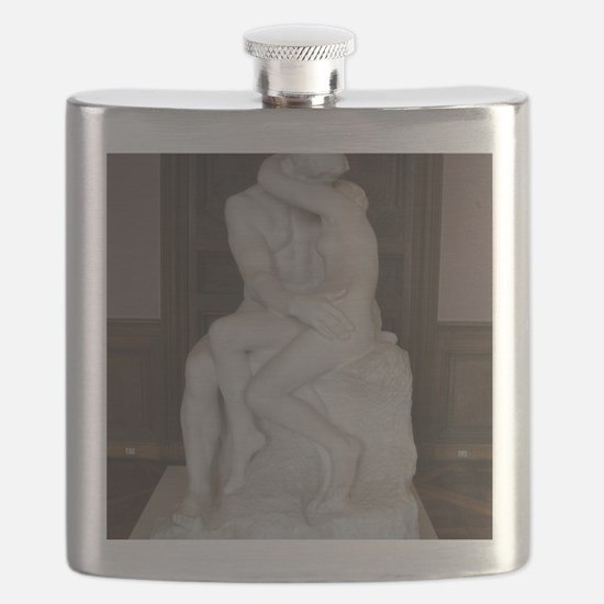 Rodin's The Kiss Flask