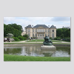 Rodin Museum, Paris Postcards (Package of 8)