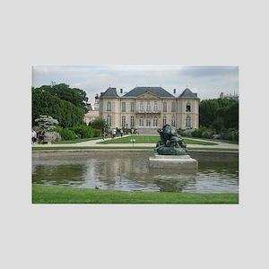 Rodin Museum, Paris Rectangle Magnet