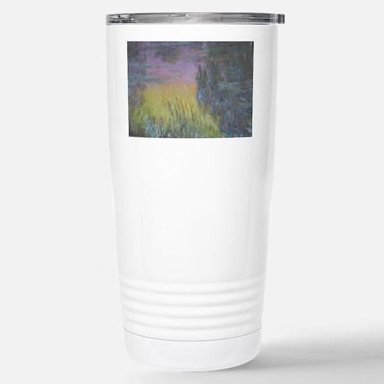 Monet's Waterlilies Stainless Steel Travel Mug