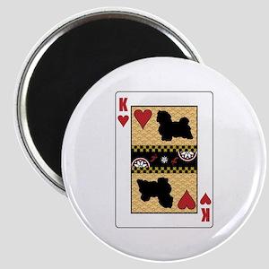 King Havanese Magnet