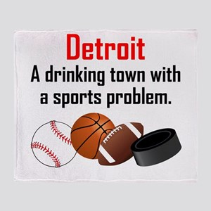 Detroit A Drinking Town With A Sports Problem Thro