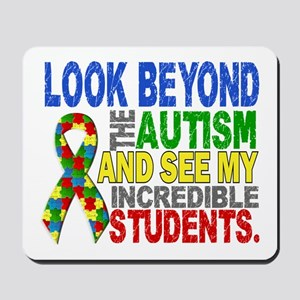 Look Beyond 2 Autism Students Mousepad