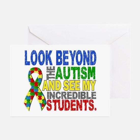 Look Beyond 2 Autism Stu Greeting Cards (Pk of 10)