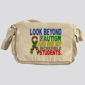 Look Beyond 2 Autism Students Messenger Bag