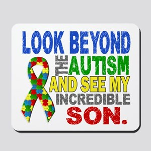 Look Beyond 2 Autism Son Mousepad