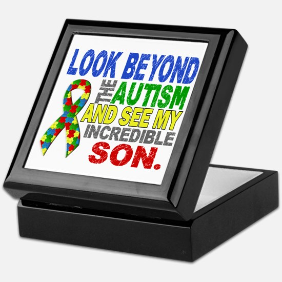 Look Beyond 2 Autism Son Keepsake Box
