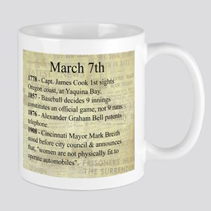 March 7th Mugs