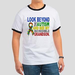 Look Beyond 2 Autism Grandson Ringer T