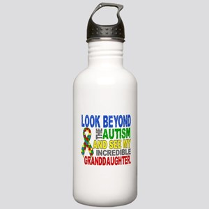 Look Beyond Autism 2 G Stainless Water Bottle 1.0L