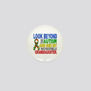 Look Beyond Autism 2 Granddaughter Mini Button