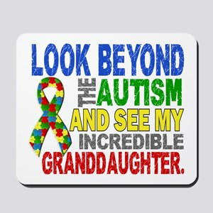 Look Beyond Autism 2 Granddaughter Mousepad