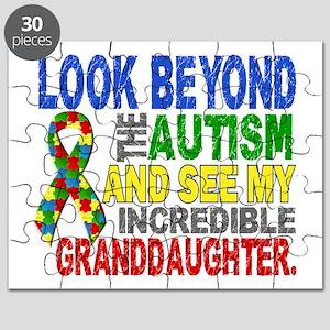 Look Beyond Autism 2 Granddaughter Puzzle