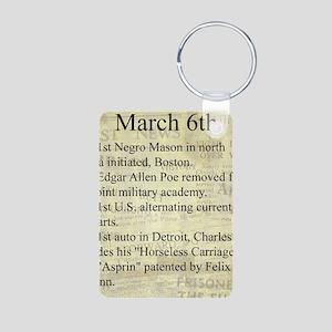 March 6th Keychains