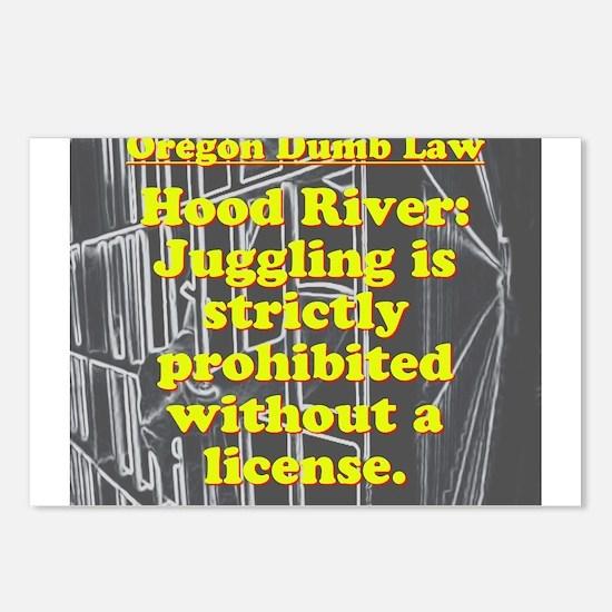 Oregon Dumb Law #7 Postcards (Package of 8)