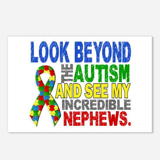 Look Beyond 2 Autism Neph Postcards (Package of 8)