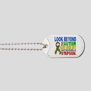 Look Beyond 2 Autism Stepson Dog Tags