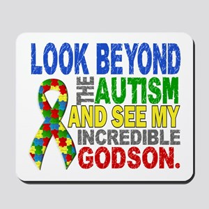 Look Beyond 2 Autism Godson Mousepad