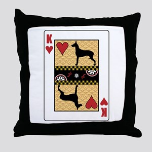 King Dane Throw Pillow
