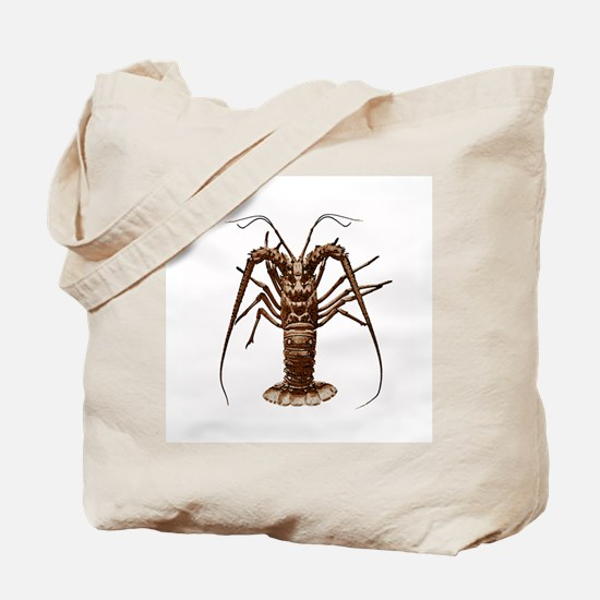 Spiny Lobster (Caribbean) Tote Bag