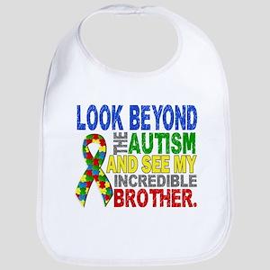 Look Beyond 2 Autism Brother Bib