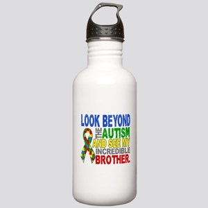Look Beyond 2 Autism B Stainless Water Bottle 1.0L