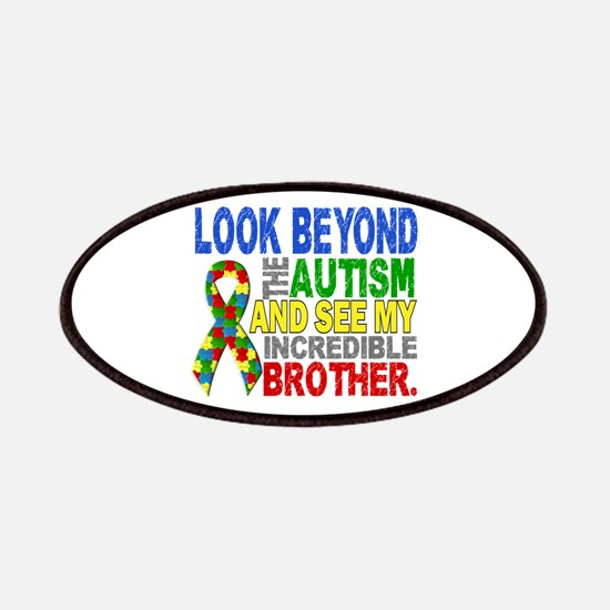 Look Beyond 2 Autism Brother Patches
