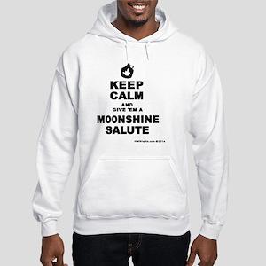 Moonshine Salute Hooded Sweatshirt