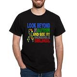 Autism siblings Mens Classic Dark T-Shirts