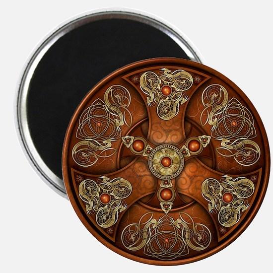 Celtic Shields - Copper Chieftain Magnets