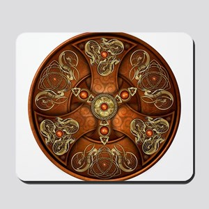 Celtic Shields - Copper Chieftain Mousepad
