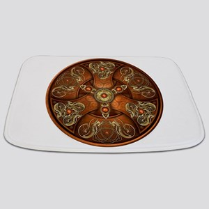 Celtic Shields - Copper Chieftain Bathmat