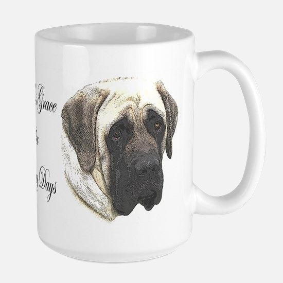 Dina's Grace Mastiff Large Mug