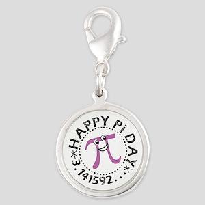 Happy Pi Day © Silver Round Charm