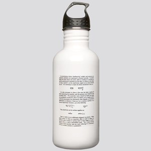 Roman numerals Stainless Water Bottle 1.0L