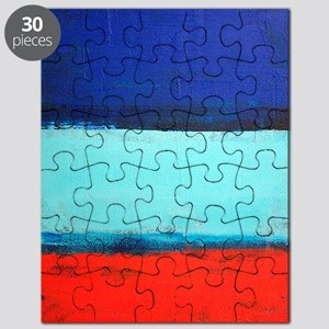 ROTHKO RED_BLUE Puzzle