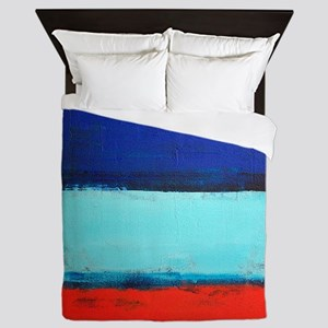 ROTHKO RED_BLUE Queen Duvet