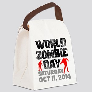 World Zombie Day 2014 Canvas Lunch Bag
