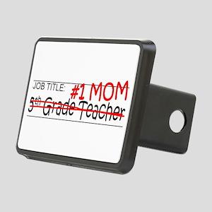 Job Mom 5th Grade Rectangular Hitch Cover